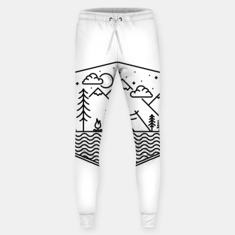 Thumbnail image of Camping Line Sweatpants, Live Heroes
