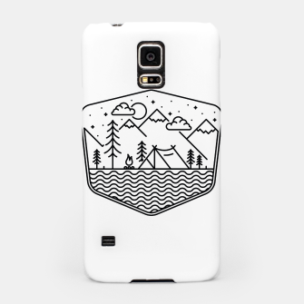 Thumbnail image of Camping Line Samsung Case, Live Heroes