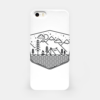 Miniaturka Camping Line iPhone Case, Live Heroes