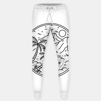 Thumbnail image of Coconut Tree Sweatpants, Live Heroes
