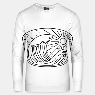 Thumbnail image of Good Wave Unisex sweater, Live Heroes