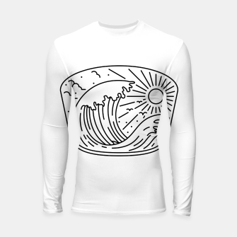 Thumbnail image of Good Wave Longsleeve rashguard , Live Heroes