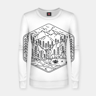 Miniatur Great Camping Women sweater, Live Heroes