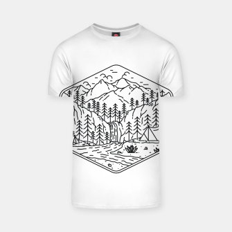 Thumbnail image of Great Camping T-shirt, Live Heroes