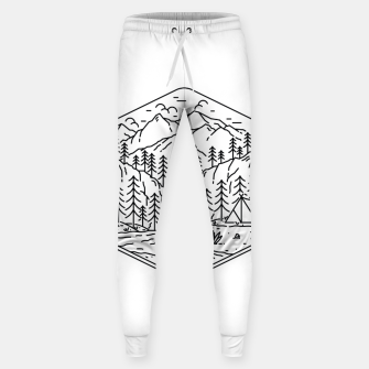 Miniatur Great Camping Sweatpants, Live Heroes