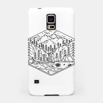 Thumbnail image of Great Camping Samsung Case, Live Heroes