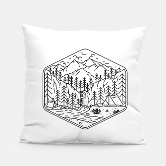 Miniatur Great Camping Pillow, Live Heroes