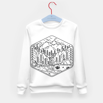 Miniatur Great Camping Kid's sweater, Live Heroes