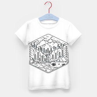 Thumbnail image of Great Camping Kid's t-shirt, Live Heroes