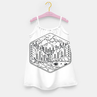 Miniatur Great Camping Girl's dress, Live Heroes