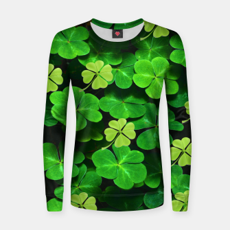 Thumbnail image of St. Patrick's Day  Women sweater, Live Heroes
