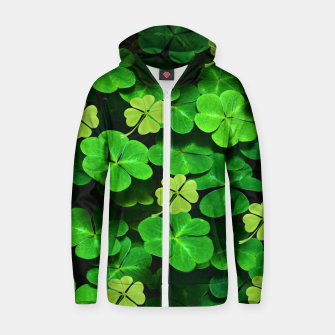 Thumbnail image of St. Patrick's Day  Zip up hoodie, Live Heroes