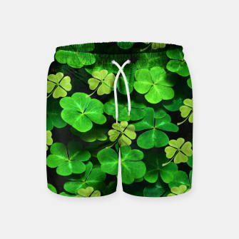 Thumbnail image of St. Patrick's Day  Swim Shorts, Live Heroes