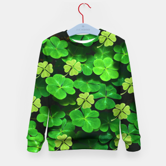 Thumbnail image of St. Patrick's Day  Kid's sweater, Live Heroes