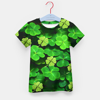 Thumbnail image of St. Patrick's Day  Kid's t-shirt, Live Heroes