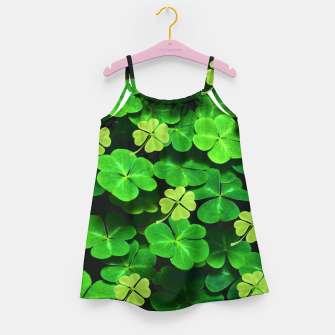 Thumbnail image of St. Patrick's Day  Girl's dress, Live Heroes
