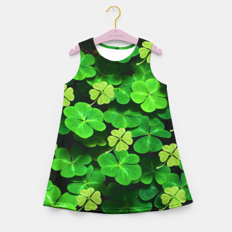 Thumbnail image of St. Patrick's Day  Girl's summer dress, Live Heroes