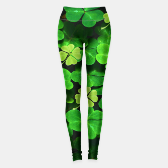 Thumbnail image of St. Patrick's Day  Leggings, Live Heroes
