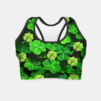 Thumbnail image of St. Patrick's Day  Crop Top, Live Heroes