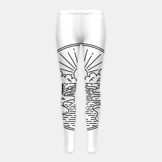 Thumbnail image of Great Nature Girl's leggings, Live Heroes