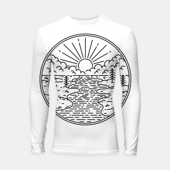 Thumbnail image of Great Nature Longsleeve rashguard , Live Heroes