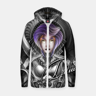 Thumbnail image of The Beauty Of Trilia MTron GS Portrait SCP Zip up hoodie, Live Heroes