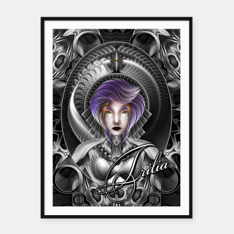 Thumbnail image of The Beauty Of Trilia MTron GS Portrait SCP Framed poster, Live Heroes
