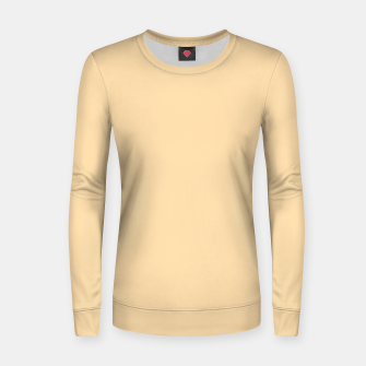 Imagen en miniatura de color navajo white Women sweater, Live Heroes