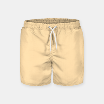 Thumbnail image of color navajo white Swim Shorts, Live Heroes