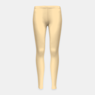 Thumbnail image of color navajo white Girl's leggings, Live Heroes