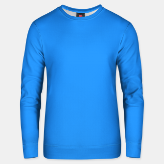 Thumbnail image of color dodger blue Unisex sweater, Live Heroes