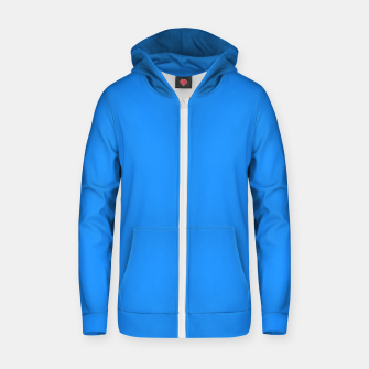 Miniature de image de color dodger blue Zip up hoodie, Live Heroes
