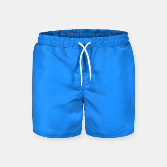 Thumbnail image of color dodger blue Swim Shorts, Live Heroes