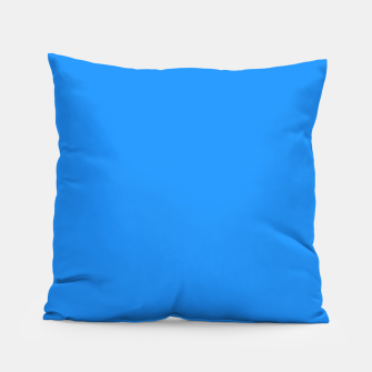 Thumbnail image of color dodger blue Pillow, Live Heroes