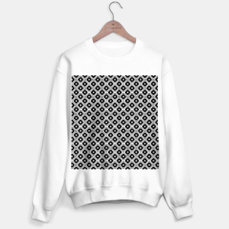 Thumbnail image of Black and white diamond pattern Sweater regular, Live Heroes