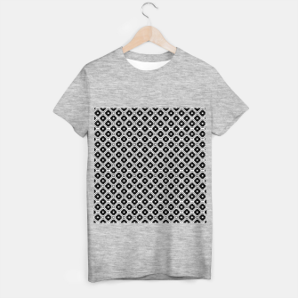 Thumbnail image of Black and white diamond pattern T-shirt regular, Live Heroes