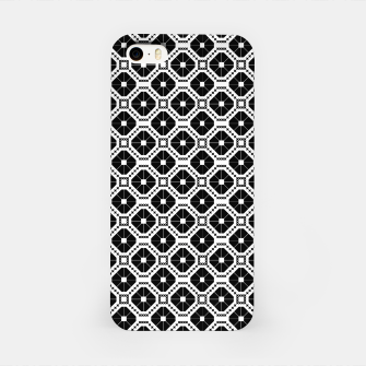 Imagen en miniatura de Black and white diamond pattern iPhone Case, Live Heroes