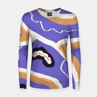 Imagen en miniatura de Abstract art 1 Women sweater, Live Heroes