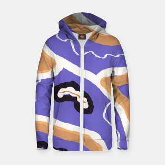 Miniature de image de Abstract art 1 Zip up hoodie, Live Heroes