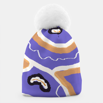 Miniature de image de Abstract art 1 Beanie, Live Heroes