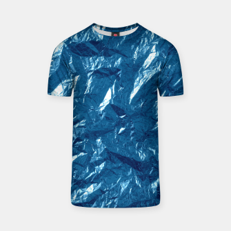 Miniatur Wrinkled glitter paper T-shirt, Live Heroes