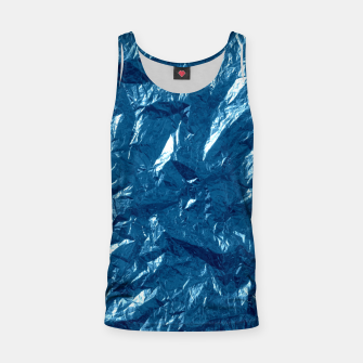 Miniatur Wrinkled glitter paper Tank Top, Live Heroes