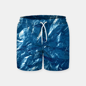 Thumbnail image of Wrinkled glitter paper Swim Shorts, Live Heroes