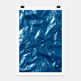Miniatur Wrinkled glitter paper Poster, Live Heroes