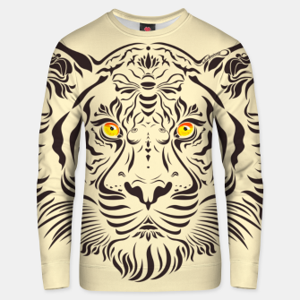 Thumbnail image of Tiger in danger by #Bizzartino Unisex sweater, Live Heroes
