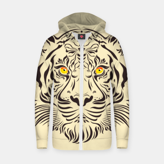 Miniature de image de Tiger in danger by #Bizzartino Zip up hoodie, Live Heroes