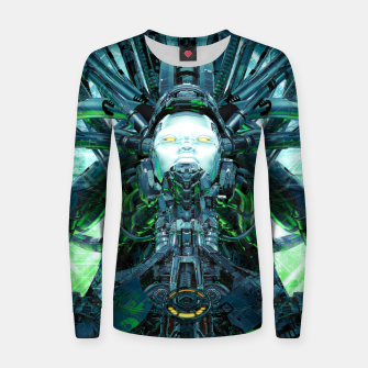 Thumbnail image of Artificial Angel Women sweater, Live Heroes