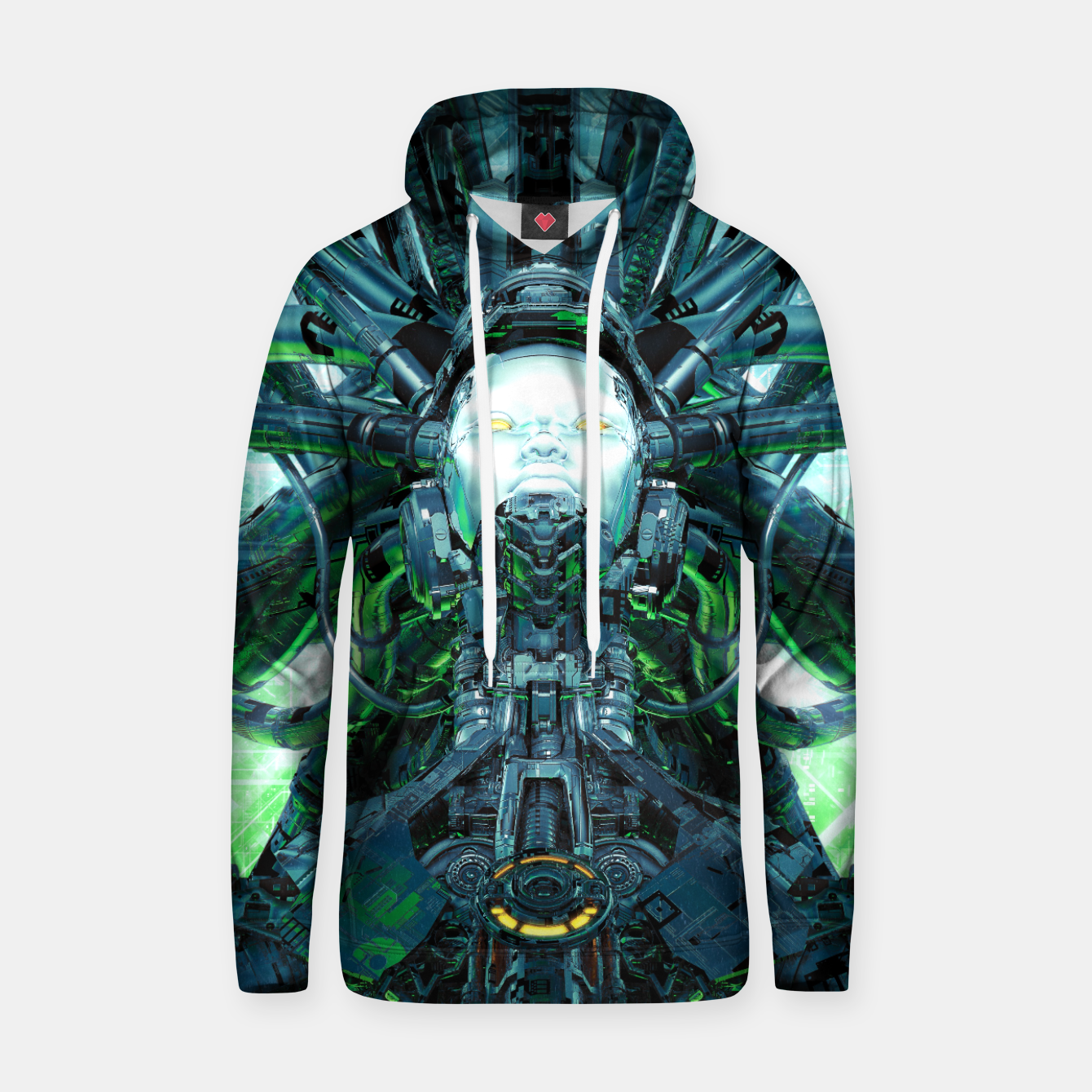 Image of Artificial Angel Hoodie - Live Heroes