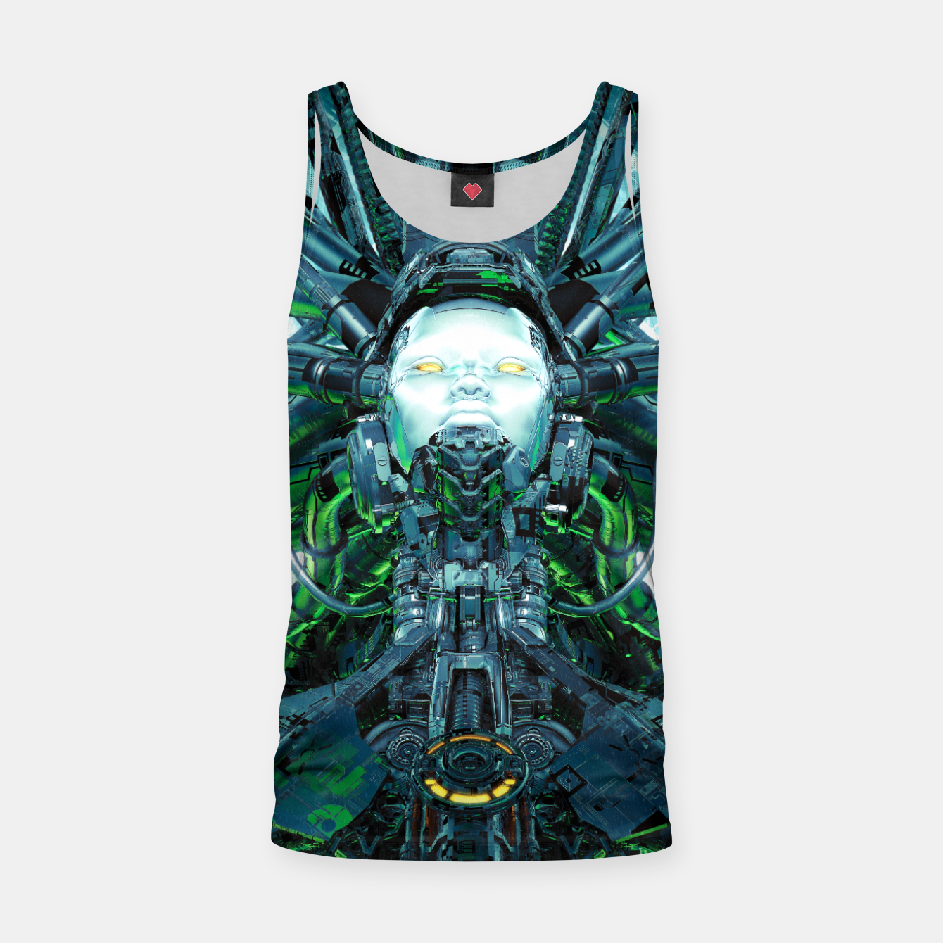 Image of Artificial Angel Tank Top - Live Heroes