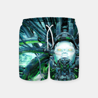 Miniatur Artificial Angel Swim Shorts, Live Heroes